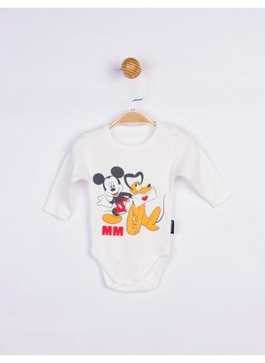 Mickey Mouse  Bebek Body 17200 Ekru